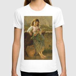 "Sophie Gengembre Anderson ""Fisherman's Children, Capri"" T-shirt"