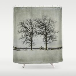 I try to pretend that I'm not alone. Shower Curtain