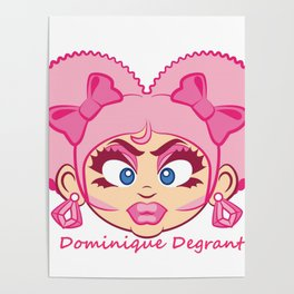 Dominique DeGrant Poster