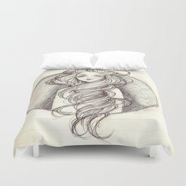 Disappointed  Duvet Cover
