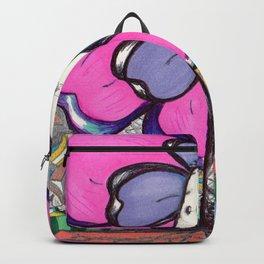 """Just Hangin' "" Flowerkid Backpack"