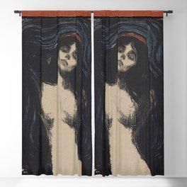 MADONNA - EDVARD MUNCH Blackout Curtain