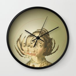 Another Portrait Disaster · Casandra 1 Wall Clock