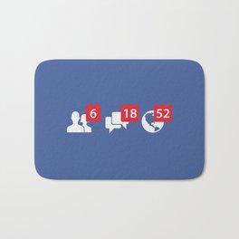 social network Bath Mat