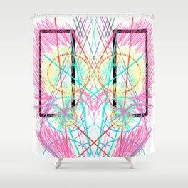 Reaction Shower Curtain