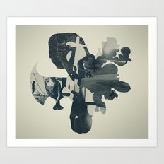 embers of clarity Art Print