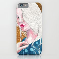 Magnolia, watercolor iPhone 6s Slim Case