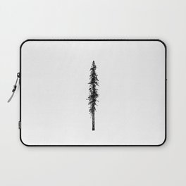 Alone in the forest - a solitary, towering Douglas Fir tree Laptop Sleeve