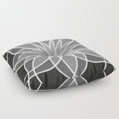 Shades of Grey | Geometric Pattern Floor Pillow