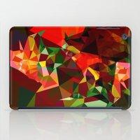 polygon iPad Cases featuring polygon chaos by Matthias Hennig