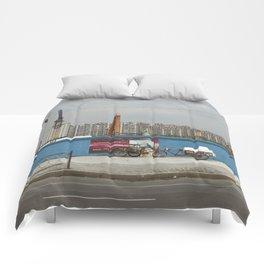 Construction site Comforters