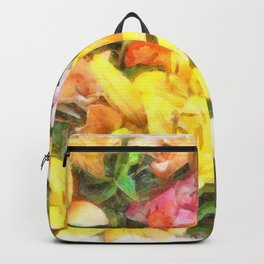 Lilies Love and Light Backpack
