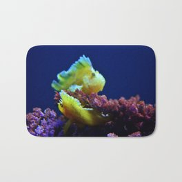 Pair Of Leaf Scorpionfish Bath Mat