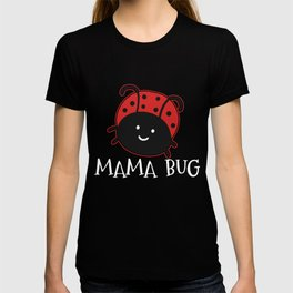 Lady Bug Mom T-shirt