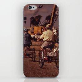 Tricycle Club iPhone Skin