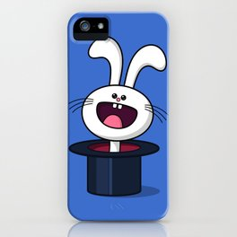 Magic Bunny iPhone Case