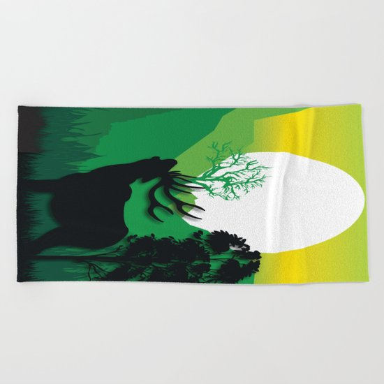 My Nature Collection No. 54 Beach Towel