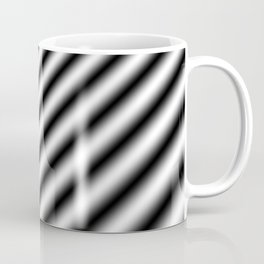 Trippy BW Abstract 2 Coffee Mug