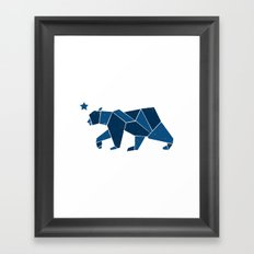 California Bear Framed Art Print