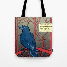 Crow habits. Tote Bag
