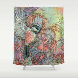 Remembering Delight Shower Curtain