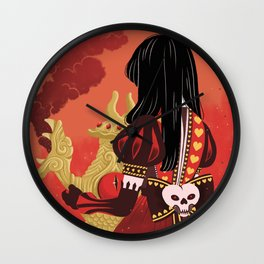 Alice, what have you done? Wall Clock