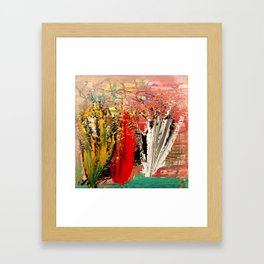 it is other planet Framed Art Print
