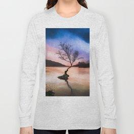 Llanberis Lake Tree Long Sleeve T-shirt
