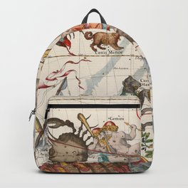 Vintage Constellation Map - Star Atlas Backpack