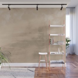 Burst of Color Pantone Hazelnut Abstract Watercolor Blend Wall Mural