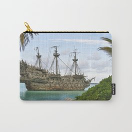 Pirate ship in the Caribbean Carry-All Pouch