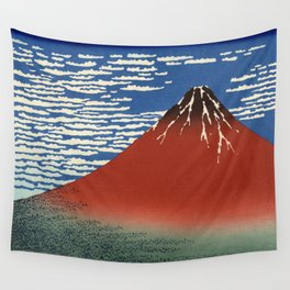 South Wind, Clear Sky (Gaifū kaisei or 凱風快晴) Wall Tapestry