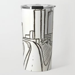Atlanta - Jackson St. Bridge Travel Mug