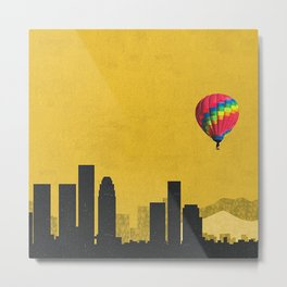 los angeles coldplay Metal Print