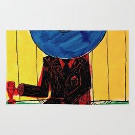 Bleuberry - Pop Art Surrealism Art Rug