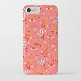 Sailor Mars Pattern / Sailor Moon iPhone Case