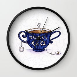 Duali-Tea Wall Clock