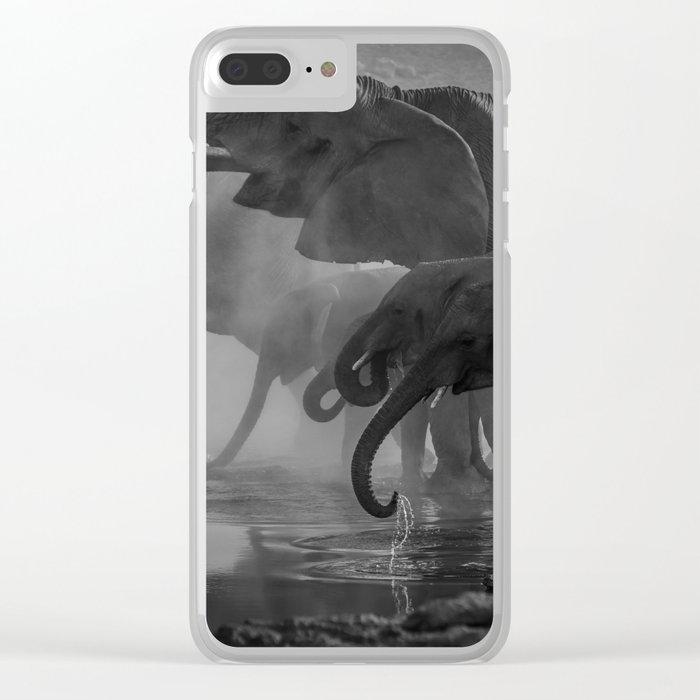 Serengeti Clear iPhone Case