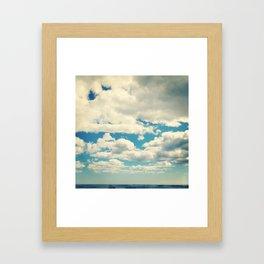 Sky Study - 20 Framed Art Print
