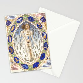 Medical Astrology Chart Atlas Stationery Cards