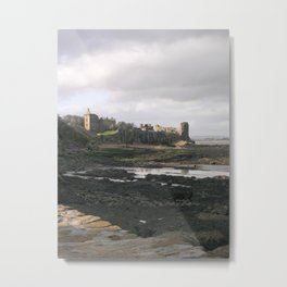St. Andrews Castle Metal Print