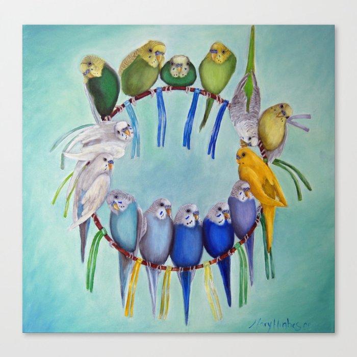Joycatcher Canvas Print