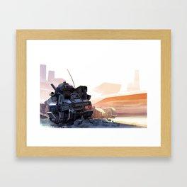 Shade Giver Framed Art Print