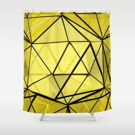 hexagonal dreaming Shower Curtain