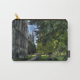 The Cathedral and Graveyard at Peterborough Carry-All Pouch