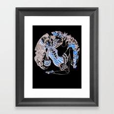 Harlequin Series 5 Framed Art Print