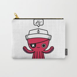 Octopus Sailor Carry-All Pouch