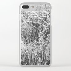 High Grass (In The Thick of It) Clear iPhone Case