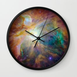Orion Nebula Wall Clock