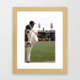 the closer Framed Art Print